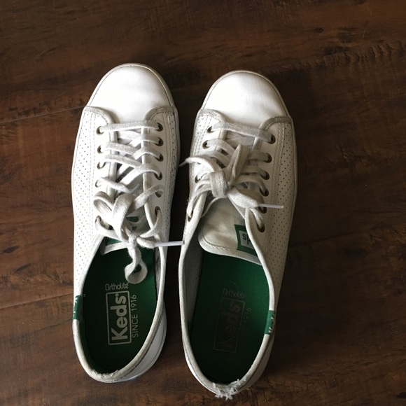 Keds Shoes Kickstart Perf Leather